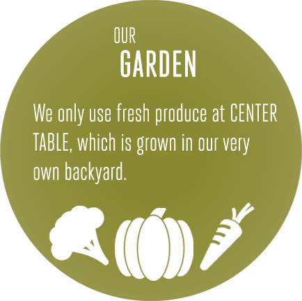 Our Garden : Center Table