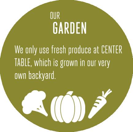 Our Garden : Center Table
